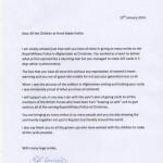 NHDC Letter